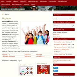 Beginner 1-2 - WebEnglish.se.se