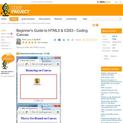Beginner's Guide to HTML5 & CSS3 - Coding Canvas