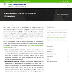 A beginner's Guide to Graphic Designing
