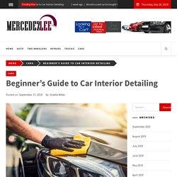 Beginner's Guide to Car Interior Detailing - mercedezlee.com