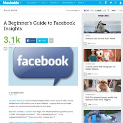 A Beginner?s Guide to Facebook Insights