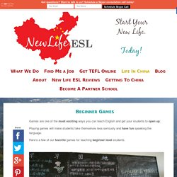 Beginner Games - New Life ESL