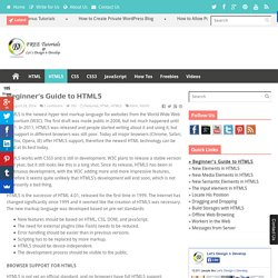 Beginner's Guide to HTML5 - Let's Design n Develop