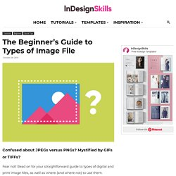 The Beginner's Guide to Image File Types