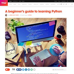 A beginner's guide to learning Python