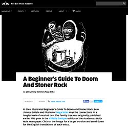 A Beginner's Guide To Doom And Stoner Rock