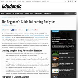 The Beginner's Guide To Learning Analytics