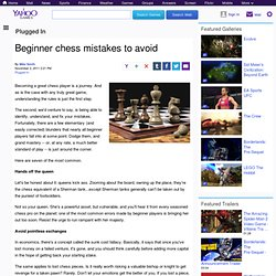 Beginner chess mistakes to avoid