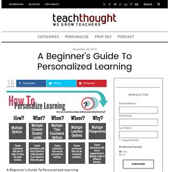 A Beginner's Guide To Personalized Learning -