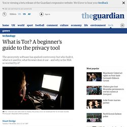 What is Tor? A beginner's guide to the privacy tool