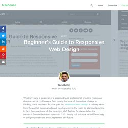 Beginner's Guide to Responsive Web Design
