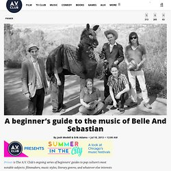 A beginner's guide to the music of Belle And Sebastian