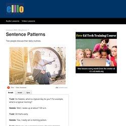 ELLLO Beginner #08 Sentence Patterns
