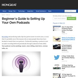 Beginner's Guide - Podcasts