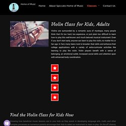 How Much does a Beginner Violin Lesson Cost - Violin Class for Kids - Spiccatohomeofmusic