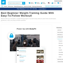 Best Beginner Weight-Training Guide With Easy-To-Follow Workout!