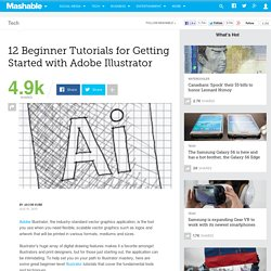 12 Tutorials for Getting Started with Adobe Illustrator
