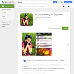 Mountain Biking for Beginners - Aplicaciones de Android en Google Play