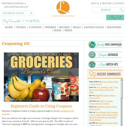 Beginners Guide to Using Coupons - Extreme Couponing -Living Rich With Coupons®