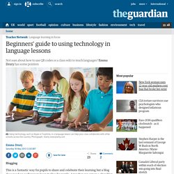 Beginners' guide to using technology in language lessons