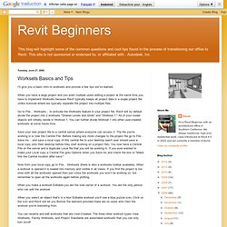 Revit Beginners: Worksets Basics and Tips