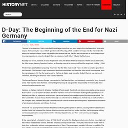 D-Day: The Beginning of the End for Nazi Germany