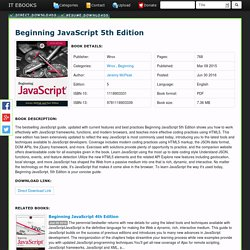 Beginning JavaScript 5th Edition PDF Download Free