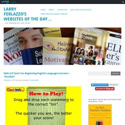 "Web 2.0 Tools For Beginning English Language Learners – ""Dustbin"""