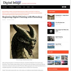 A Beginner's Guide to Painting with Photoshop | Digital Image Magazine