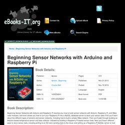 Beginning Sensor Networks with Arduino and Raspberry Pi PDF Download Free