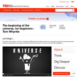 The beginning of the universe, for beginners - Tom Whyntie