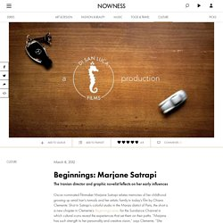Beginnings: Marjane Satrapi