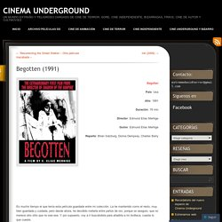 CINEMA UNDERGROUND