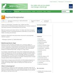 Begränsad klimatpåverkan - miljömål.se