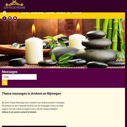 Overzicht massages - De massage behandelingen van Siammassage
