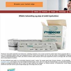 Effektiv behandling og pleje af erektil dysfunktion