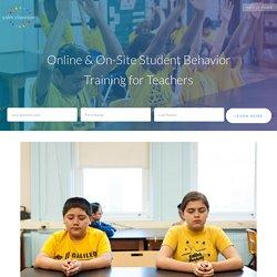 Online & On-Site Student Behavior Training for Teachers