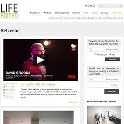 Behavior - LifeEdited