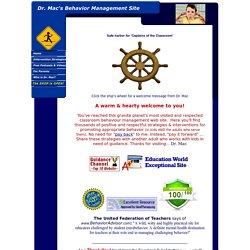 Classroom Behavior Management Site