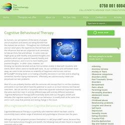Cognitive Behavioral Therapy Hertfordshire