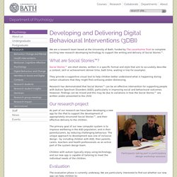 Developing and Delivering Digital Behavioural Interventions