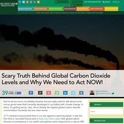 Scary Truth Behind Global Carbon Dioxide Levels and Why We Need to Act NOW!