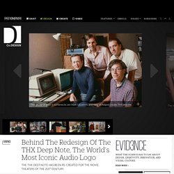 Behind The Redesign Of The THX Deep Note, The World's Most Iconic Audio Logo