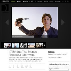 """47 Behind-The-Scenes Photos Of """"Star Wars"""""""