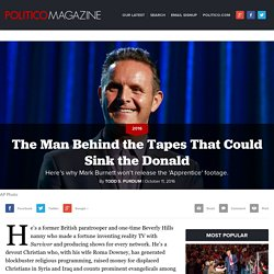 The Man Behind the Tapes That Could Sink the Donald