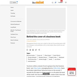 Behind the cover of a business book