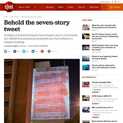 Behold the seven-story tweet | Crave - CNET