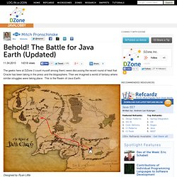 Behold! The Battle for Java Earth