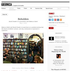 Beholden - Guernica / A Magazine of Art & Politics