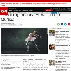 Beholding beauty: How it's been studied